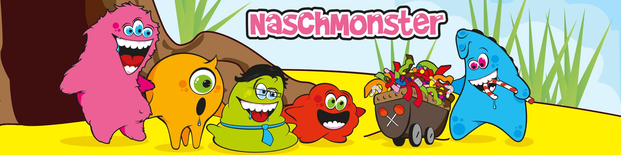 Naschmonster-Banner